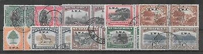 South West Africa 1927 London set of 10 very fine used