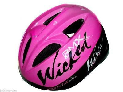 Coyote Bicycle Cycle Bike Childs Kids Youth Junior BMX Girls Wicked Helmet 48-52