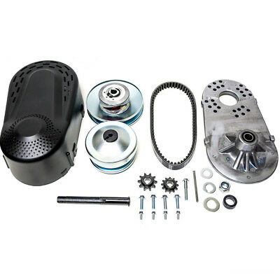 "Hot sale Go Kart Torque Converter Kit CVT Clutch 3/4"" 10T #40/41/420 Chain US"