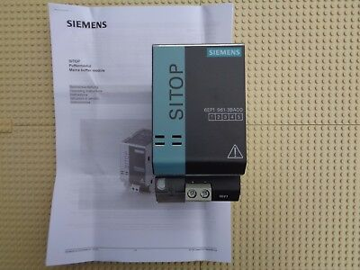 siemens sitop buffer puffermodul 6ep1961-3ba00 6ep1 961-3ba00 24V in 24V out NEW