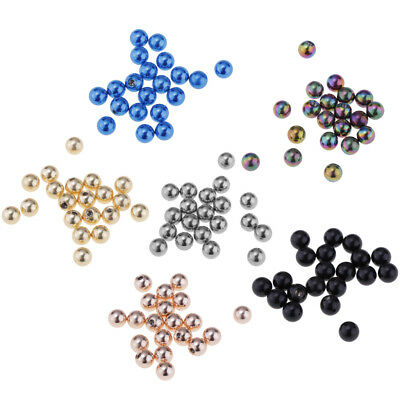 20 Pcs Stainless Steel 14G 5mm Replacement Ball Beads Body Jewelry Piercings
