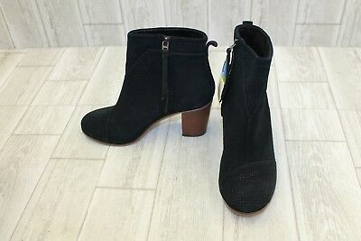 0b623ee82 TOMS LUNATA LACE-UP Bootie - Women's Size 8.5 Black - $66.00 | PicClick
