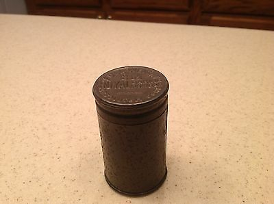 Antique 2 ounce Royal Baking Powder Tin Canister 2 Pieces Embrossed Empty