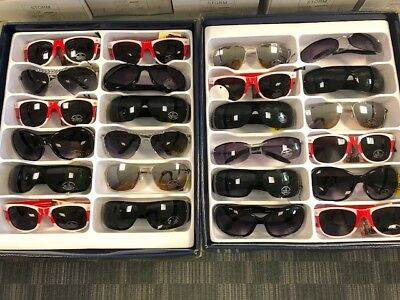 Job Lot 24 pairs of assorted sunglasses - Car Boot - Resale - Wholesale - REF117
