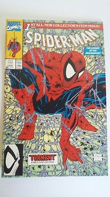 Spider-Man; August 1990, Purple Web/ Green Cover Issue #1, New Condition.