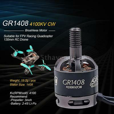GEPRC GR1408 4100KV High Power 2-4S CW Brushless Motor for FPV Racing T3U3