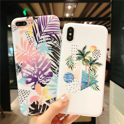Cell Phone Accessories Cell Phones & Accessories Loyal Fashion Coconut Tree Soft Unbreak Phone Case Cover For Apple Iphone 6-xs Max