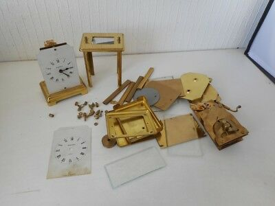 Bayard 8 Days Carriage Clock Job Lot Spare Parts - Movements