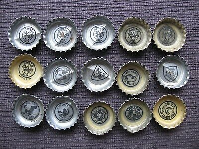 Coca Cola Coke Nasa Apollo Missions 1-15 Bottle Caps~COMPLETE SET!!