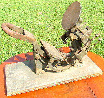 vtg manual printing press Kelsey & Company Meriden CT Excelsior Mercury model M