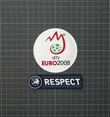 UEFA Euro 2008 & RESPECT Sleeve Patches/Badges