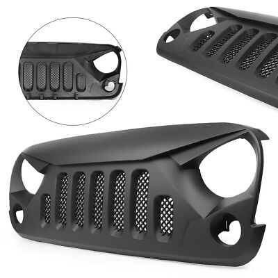 Front Angry Bird Gladiator Mesh Grille For Jeep Wrangler Unlimited JK 2007-2018