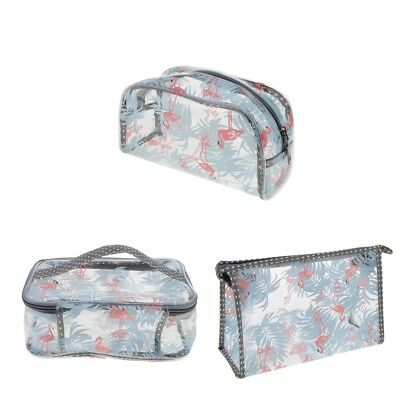 Travel Clear Cosmetic Makeup Storage Toiletry Wash Bag Pouch Portable