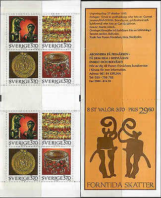 Sweden 1995 Ancient Artifacts/Artistic Cultural Heritage/Archaeology/Bronze Age
