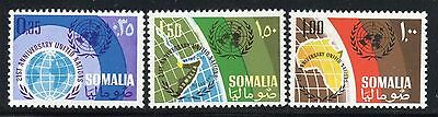 SOMALIA 1966 UNITED NATIONS 21 th ANN/ORGANIZATION/MAP/GLOBE/EMBLEM/AFRICA/OCEAN