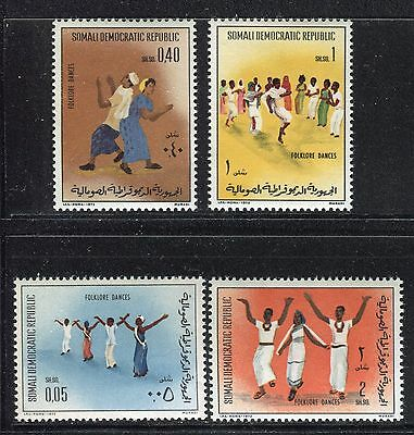 Somalia 1973 Folk Dance/music/art/costumes/popular Traditions/man/woman