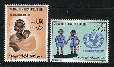 SOMALIA 1972 UNICEF 25th ANN/UNITED NATIONS/ORGANIZATION/EMBLEM/MOTHER/CHILD/