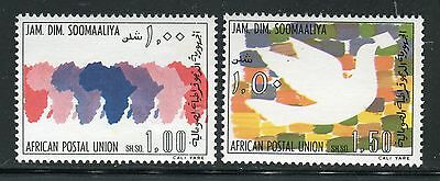 Somalia 1975 African Postal Union/organization/africa Maps/carrier Pigeons/