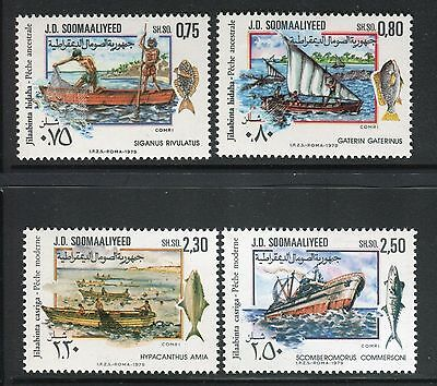 Somalia 1979 Fishery Development/sail/fishing Boats/fishermen/sea/water/ocean