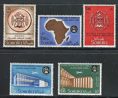 Somalia Italy Admin 1960 University/architecture/culture/map/arms/planes