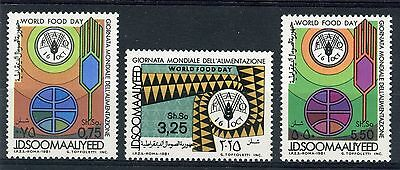 Somalia 1981 World Food Day/fao/organization/emblem/grain/globe/agricolture