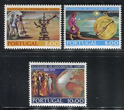 Portogallo Portugal 1975 Geographical Soc/Science/Instruments/Globe/Ocean/People