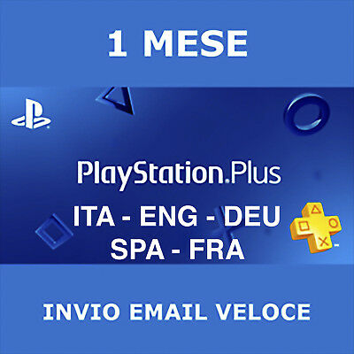 PlayStation Plus - PS Plus - 1 Mese