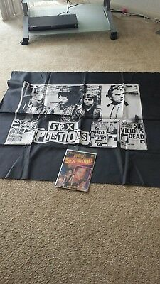 Sex Pistols comic #14 First Printing with large banner punk rock