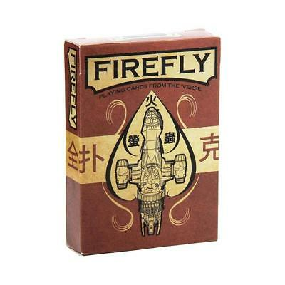 Firefly Playing Cards NEW Games Playing Games Sci-Fi Cards