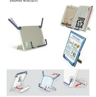 Folding Tablet Book Stand Fashion Portable Reading Holder Study School Office