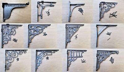 Cast Iron SHELF BRACKET wall shelf bracket cistern toilet sink metal chic