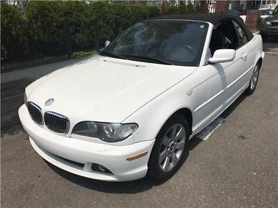 2005 BMW 3-Series 325Ci 2005 BMW 3 Series 325Ci 66,780 Miles Alpine White Convertible WORLDWIDE SHIPPING