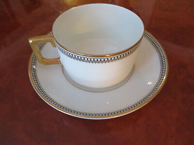 Heinrich & Co H&c Selb China Bavaria Germany Coffee Cup And Saucer