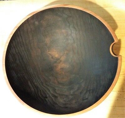 Black Walnut Wood Large Bowl Euc