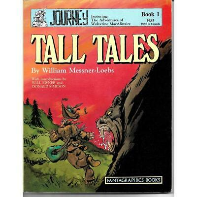 Tall Tales Book 1 Fantagraphics Books Comic February 1987 1st ed. Graphic Novel
