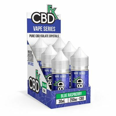 GENUINE CBD Vape Juice-Fx CBD Vapr Series 6 flavors 250,500mg & 1000mg. USA Made