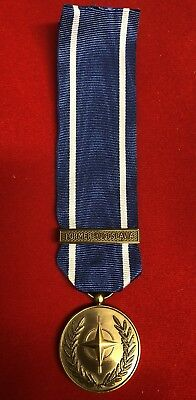 Full Size Nato Bosnia Former Yugoslavia Medal Brand New. Fast Dispatch