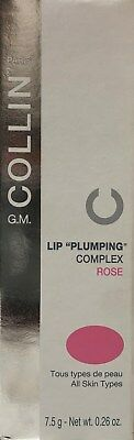 G.M. Collin Lip Plumping Complex Rose Tester - 7.5 g / 0.26 oz  new EXP 1/2020