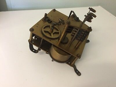 Vintage Brass Clock Movement