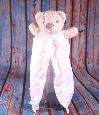 New Carter/'s Plush Girl/'s Doll Toy Happy Kitty Cat Gold Bow NWT 9 in Soft Ivory