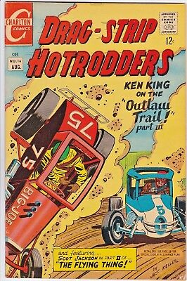 Drag-Strip Hotrodders # 16 Charlton - Jack Keller - Racing Cars