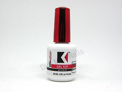 Kupa Gelfinity Gel TOP COAT No Wipe UV/LED Cure Soak Off .5oz NEW!