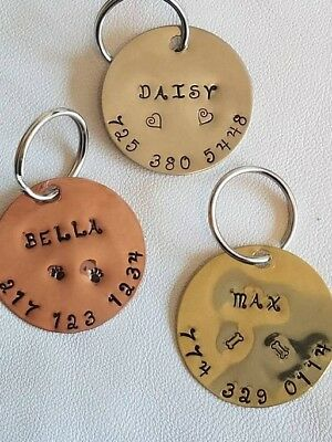Cute personalized dog id tags