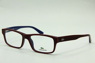 5d2be364da6 New Lacoste L 2705 603 Red Optical Eyeglasses Authentic Frame Rx L2705 53-17