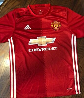 1c03a078b 2016 Adidas Manchester United Soccer Jersey Men s