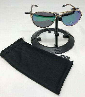 3bac48ec9e Oakley Feedback Polarized Womens Polished gold   Jade iridum Sunglasses  4079-20