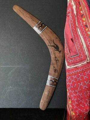 Aboriginal Boomerang from Mudi Dudi Tribe …beautiful collection piece
