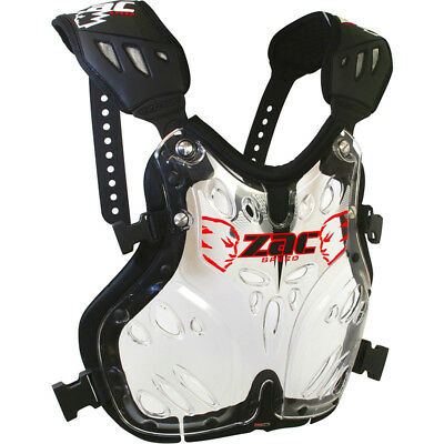 NEW Zac Speed MX Exotec Clear Configr8 Motocross Dirt BikeChest Protector