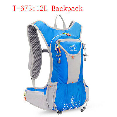 5L Bike Bicycle Hydration Pack Backpack Camelbak Cycle Hiking + 2L Water Bag New