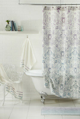 New BLUEBELLGRAY Shower Curtain72 In X 72 100 Cotton Twill Fabric